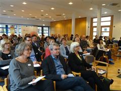 Plenum der Fachtagung zur Kommunalen Suchtprävention in Brandenburg